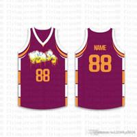 2020 Лучшие Пользовательские Баскетбол Трикотажные мужские Вышивка логотипов Джерси Бесплатная доставка Дешевые оптовая любое имя любое число Размер S-XXL73