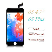 Grade A + + + LCD For iPhone 6S 6S Plus Display Touch Digitize...