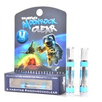 Nuevos cartuchos Moonrock Clear Cartuchos DR Zodiak Atomizadores Moon Rock Ceramic Vape Pen Thick Oil 1.0ml Caja de regalo Sabores Embalaje at211