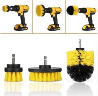 3pcs set Electric Drill Brush Grout Power Scrubber Cleaning ...
