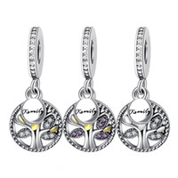 Браслет Подвеска случки Кубического циркона бисер Fit Pandora браслет DIY ожерелье для изготовления ювелирных изделий Аксессуаров выводов составной части