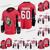 2019 Senadores de Ottawa Jersey 60 Lassi Thomson 33 Mads Sogaard 57 Shane Pinto 9 Bobby Ryan 7 Brady Tkachuk 1 Mike Condon Hockey Jerseys