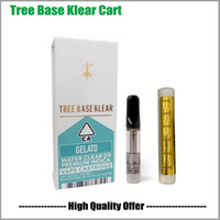 Premium Albero Base cartuccia Vape Klear 0,8 ml 1,0 ml Pyrex vetro della vasca di ceramica Coil 510 Atomizer Vape Carrelli
