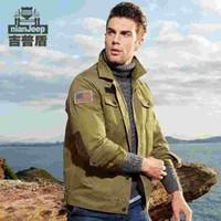 NIAN JEEP Jacket Men Blouson hommes militaire de l'armée volant de loisirs Veste coupe-vent bombardier multi-poches Veste Homme vêtements homme