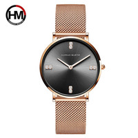 Women Watch Luxury Watches Stainless Steel Mesh Band Diamond...