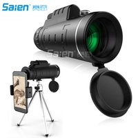 Monocular Telescope CE Optics 40x60 - High Powered BAK4 Pris...