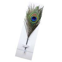 Cumpleaños de la Navidad de la tinta de la pluma del bolígrafo de la forma de la pluma del color de escritorio de la pluma de la pluma de la individualidad del estudiante regalo libre de DHL