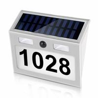 البيت الشمسية عدد أضواء عنوان أرقام اللوحة الحركة الاستشعار باب عدد أضواء الجدار جبل لعلبة بريد باب السور