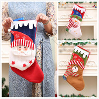 Creative Christmas Stockings Decor Ornament Party Decoration...