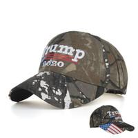 دونالد ترامب 2020 كاب للرجال التمويه USA قبعات البيسبول العلم إبقاء قبعات أمريكا العظمى سنببك هات 3D التطريز ستار رسالة الجيش كامو