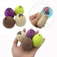 Anti Stress uovo di dinosauro di divertimento della novità Splat uva sfiato Balls Spremere sottolinea mitigatore Bavaglio Candid giocattolo divertente gadget