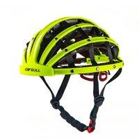 Ciclismo su strada casco della bici Anti-UV di sicurezza Elmetto pieghevole Ultralight casco Ciclette moto bicicletta