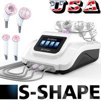 De bons effets pour perdre du poids par ultrasons Cavitation RF EMS électroporation aspiration du corps mince machine à vide d'aspiration Visage Corps Beauté