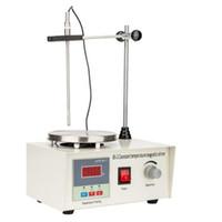 Yepyeni Termostatik Manyetik Lab Isıtmalı Karıştırıcı karıştırma ekipmanı Yüksek Kalite Manyetik Karıştırıcı 220V / 110V içinde