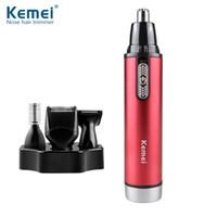 Kemei KM-6620 quattro-in-one multifunzione naso elettrico capelli rasoio angolo taglio sopracciglio trimmer trasporto libero