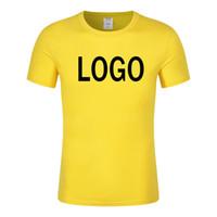 Горячая распродажа мужчины шею футболка сплошной цвет плюс размер однотонные футболки розница футболки пустые рубашки