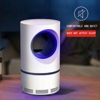 Düşük voltaj UV Işık USB Sivrisinek Katili Lambası Elektrikli Sinek Sivrisinek Tuzağı Anti-Sivrisinek Kovucu Bug Zapper ...