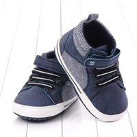 2020 Новые моды для младенцев мальчиков девочек Кроссовки Кожа Спорт Шпаргалка Soft First Walker Обувь Первый ходунки Для 0-18month