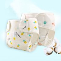 1PC Reusable Waterproof baby cloth diaper cotton washable di...