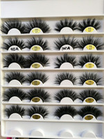 25mm long 3D mink hair false eyelashes to make eyelash lengt...