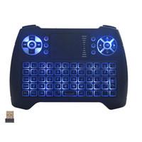 Mini T16 sem fio Air Mouse Keyboard Combo Com Touchpad 2.4GHz Handheld controle remoto para desktop / laptop / Smart TV