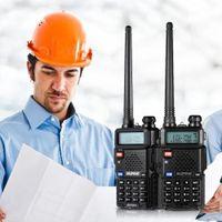 BAOFENG UHF Walkie Talkie Zweiwegradio FM Transceiver Dualband Lange Kommunikation Sprech Intercoms