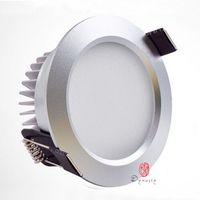 LED-Beleuchtung Downlights Aluminium Hohe Qualität Conceal Deckenleuchte Einbau Superhelligkeit Home Hotel Projekt, Farbtemperaturstabilität