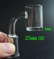 Кварц без купола 4 мм толстый четвертик гвоздь гвоздь мужской женский прозрачный шов кварцевый гвоздь 45 90 градус 10 14 мм 18 мм