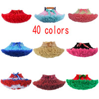40 colors Retail Christmas baby girl designer clothes tulle ...