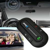 Wireless Altoparlante vivavoce Bluetooth Car Kit visiera della clip per Smart Mobile Phone