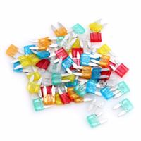 حلو البسيطة بليد الصمامات السيارات فيوز كيت سبيكة الزنك والمواد البلاستيكية لزينة السيارات شاحنة 5A 10A 15A 20-30A