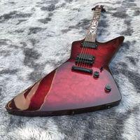 2020 Özel Gülağacı En Kapak Maple Fingerboard Elektrik Iban Logo için Gitar ve Headstock Özelleştirilmiş Olabilir
