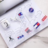 Cute Cartoon Clear PC Case For Airpods 2 Wireless Headphone ...