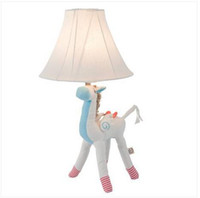 2020 Ücretsiz nakliye Toptan Pratik Taşınabilir Çocuk Masası Lambası Çocuk Daimi Masa Lambası Unicorn Lambası Gece Işığı