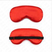 Wyściełane Jedwabne Eye Mask Solid Color Sponge Shade Dust Oet Cover Opload Opaski Maska Sleep Kobiety Sleeping Travel Miękkie Maski Double Wear 2020 D61812