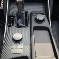 Для Lexus IS300 2013-2018 Интерьер Центральная панель управления Дверные ручки 3D / 5D углеродного волокна наклейки деколь автомобиля укладки Accessorie