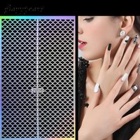 Cheap Stickers & Decals 12 Design 1pc Nail Laser Sticker Air...