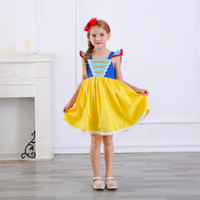 New Arrival Princess Girls Dress Kids Cotton Tulle Fluffy Pa...