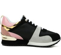 New Hot Brand Classic designer Donna Fashion Top in pelle Low Top Sneakers sportive Designer Scarpe taglia 35-40 con scatola L05