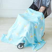 Bebé Manta Swaddle Recién Nacido Infantil Cochecito Cubierta Bebé Fotografía Abrigo Niños Unicorn Mantas Mantas Ropa de Cama Niños jugar