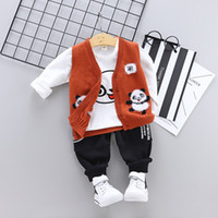 High quality baby boy girl clothing 2019 spring autumn new c...