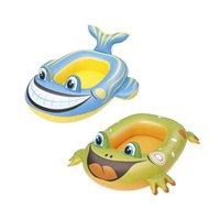 풍선 아기 물고기 / 개구리 보트 풀 플로트 수영 물 장난감 재미 수레 수영장 부표를 타고 온 뗏목 Boia 어지