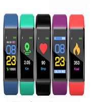 ID115 plus Smart Bracelet Fitness Tracker Step Counter Activ...