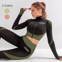 Оптовая Hot Sexy Женщины Девушки Gym Workout Wear Спорт Цельные тела чулок Йога Брюки Наборы