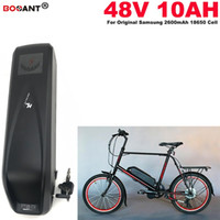 48v 10ah 전동 바이크 용 리튬 배터리 Bafang 원래 배터리 18850 용 BBS02 BBSHD 450W 800W 송료 무료