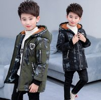 Boys Down Jacket 2018 New Boys Winter Cotton Coat Warm Child...