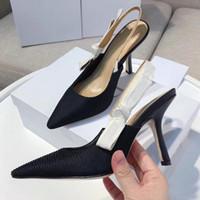 높은 굽 샌들 검투사 가죽 여성 샌들 미세 발 뒤꿈치 높은 굽 신발 10cm 패션 섹시한 편지 천 여자 신발 큰 크기 34-42