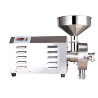 QIHANG_TOP التجارية Superfine الحبوب آلة طحن الغذاء معالجة الكهربائية الفلفل الصيني فول الصويا مطحنة مطحنة مطحنة