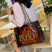 Borse Designer Top-maniglia per le donne grandi sacchi Cancella Tote per le donne di lusso borse del progettista trasparente bag / 4 spalla sola mano