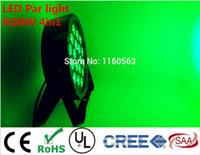 RGBW 4in1 18x8W LED Flaches SlimPar Quad-Licht 4in1 LED DJ-Waschlicht-Bühnenlicht